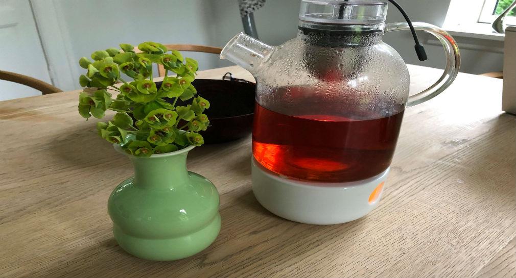 Regn, strik, te og lagersalg